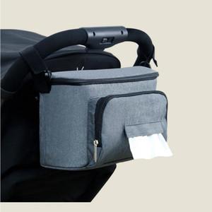 Baby Stroller Bag Organizer Bag Nappy Diaper Mummy Bag Mama Carriage By Pram Cart Basket Hook Stroller Accessories