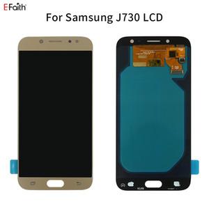 AMOLED qualidade LCD para Samsung Galaxy OLED J7 Pro 2017 J730 J730F Display LCD com tela de toque digitador Assembléia