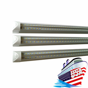 Integrated 3ft V-Shaped T8 Led Tubes Light 270 Angle 25W Cooler Door 900mm Led Lights Tube Cold White AC 85-277V f8t5