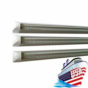 Integrated 3ft V-Shaped T8 Led Tubes Light 270 Angle 25W Cooler Door 900mm Led Lights Tube Cold White AC 85-277V f8t5