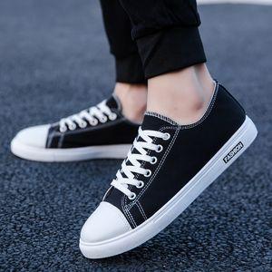 Ulzzang toile Chaussures Skater mode Skate Sneakers 50% coréenne Low Cut robuste Casual Male chez les adolescentes Plimsolls Trendy Conseil Chaussures