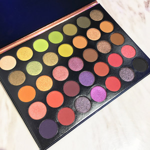 NEW Makeup beauty palette Beauty Glazed 35 Colors Eyeshadows Long Lasting Highlighter Palette Making Up Pallete Powder DHL