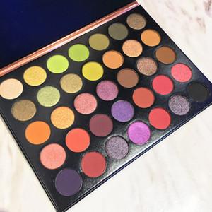 NEW Make-up Schönheit Palette Schönheit Verglaste 35 Farben Lidschatten Langlebige Highlighter Palette Making Up Pallete Powder DHL