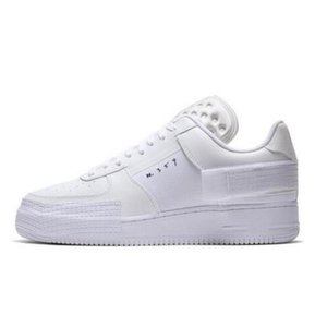 PEACEMINUSONE X Forze media scarpe uomini poco costoso di sport WMNS Ombra Tropical Twist Sneaker Trainer All White Low Cut One 1 Scarpe Dunk Outdoor