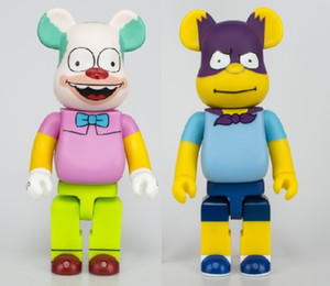 Hot 28cm 400% Bearbrick Bear Brick Anime Toys Cos Clown PVC Action Figure Collectible Model Toy for children Gifts T200609