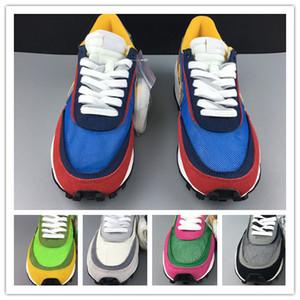 2019 Nuove scarpe da ginnastica sportive da uomo bianche rosse verdi estive all'ingrosso sneakers basse da esterno con scatola da donna con scatola da 36-46