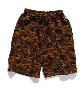 Sommer trend joint shorts BAPE camouflage Wüste Sport Männer und Frauen mit die gleiche shorts casual Hosen Flut MCM