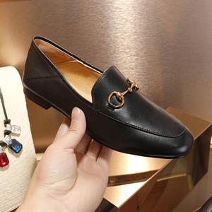 Frais de livraison gratuite femme Casual Designer BLACK REAL LEATHER jordaan slip on MULE SHOES COME AVEC BOX NEUF