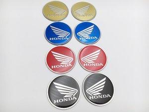 Motocicletta Serbatoio benzina serbatoio laterale Adesivo per decalcomania per Honda Wing L / R