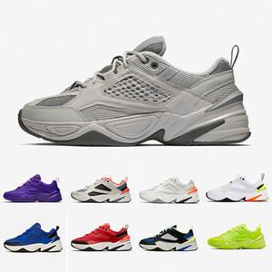 Nike Air M2K Tekno Shoes 2019 Monarch M2K Tekno Moda Baba Ayakkabı Monarch 4 Tasarımcı Erkekler Kadınlar için Zapatillas Koşu Ayakkabıları satış Sneakers des ...