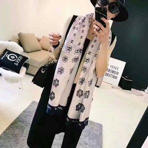 Bufandas de la manera para la impresión de las mujeres bufanda de seda femenina 180x90cm larga del mantón del pañuelo para la cabeza grande bufandas Hijab para damas 21 colores A6968