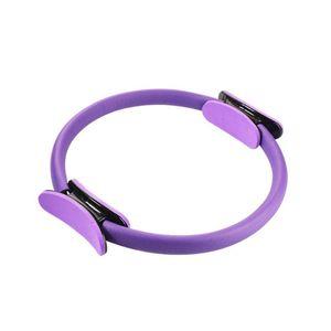 Home Fitness Body Shaping Ring Yoga Wheel 6 Color Yoga Pilates Circle Female Pp Frp Fiber Multicolor Fitness Circle