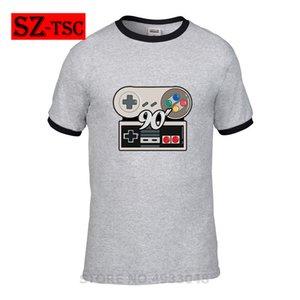 T-shirt NECO NERD PLAY rétro 80 90 ps4 T-shirt en coton graphique pour hommes d'été