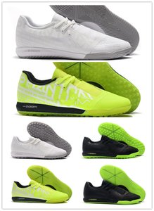Hommes Zoom Phantom VNM Pro TF IC Venom Indoor gazon New Lights Under The Shoes Football Football Bottes cloutées