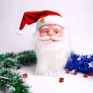 Рождественский подарок Петь Electric Музыкальные игрушки Санта-Клауса Кукла Поющая Новогоднее украшение для дома T191025