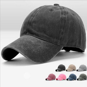 New spring and autumn hat summer outdoor cap washed baseball cap old cowboy sun hat