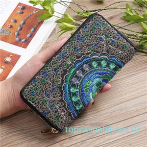 Designer luxury handbags purses Wholesale lady long wallet multicolor designer coin purse Card holder womens classic zipper pocke tr10