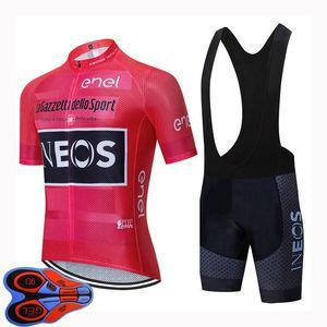 2020 Maniche squadra INEOS Ciclismo Jersey breve estate bicicletta della strada traspirante Abbigliamento Ropa Ciclismo uomini U20041620