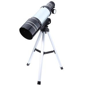 انخفاض أسعار الجملة الفلكية أحادي العين تلسكوب الفضة المهنية التلسكوبات الفضائية مع ترايبود عدسة المناظر الطبيعية لعلم الفلك