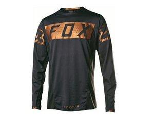 Nuovo vestito velocità-drop esterna ad asciugatura rapida T-shirt FOX Motociclismo locomotiva off-road a maniche lunghe passeggiate in bicicletta