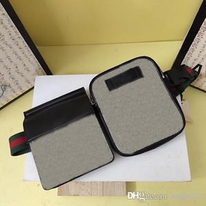 GC450 splicing dois bolsos saco da cintura tomada clássico 956 zíper e ímã à moda bra tiras podem ser ajustadas e fácil de transportar