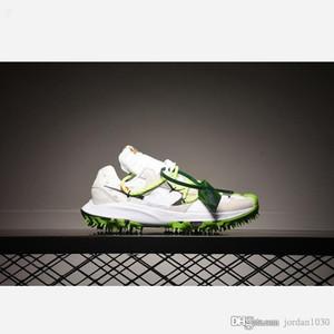 Nike Zoom Terra Kiger 5 Off-White White 2020 Hot vente Hommes Chaussures de course CD8179-100 Off-W x Zoom Terra Kiger 5 Blanc Vert athlète en cours extérieur Sneakers Sport 36-45