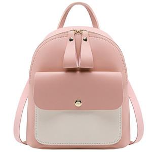 Мини рюкзак Crossbody сумка для девочек-подростков 2020 женщин плеча телефона Кошельки корейский Новый кабриолет мешок рук