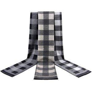 Strips Plaid Long Scarf Men's Cheap Business Casual Scarfs Formal Scarfs Soft Christmas Gift To Men Winter Warm Cashmere Scarves