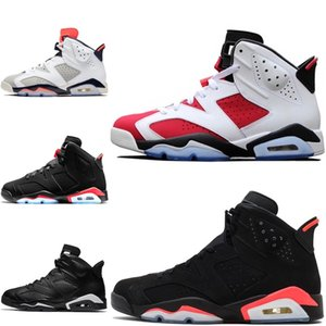 Nike Air Jordan 6 Scarpe da basket uomo 6s j6 air flight Green Abyss Aleali May Nero a infrarossi 6 jumpman VI scarpe da tennis tennis di alta qualità