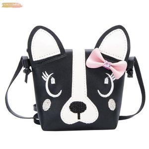 Tftp Women Bag Cute Dog Children Handbag Girl Shoulder Bag Baby Pu Leather Crossbody Purse Should Bag Kids Fashion B