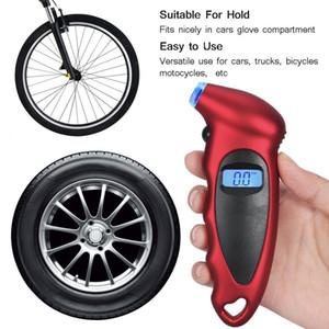 ЖК-цифровой индикатор давления в шинах тестер шин воздуха Датчик давления TPMS Пневматические инструменты для автомобилей Motocycle велосипед электронный счетчик