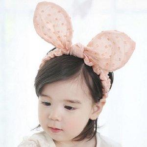 Unisex Baby-Kleinkind-nette Mädchen-Junge-Kind Bowknot Hair Turban-Knoten-Kaninchen-Ohr-Stirnband Prinzessin Party Kopfbedeckung Hot Zubehör