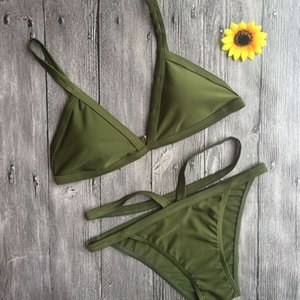 Yeni Gelenler Kadınlar Lady Şınav Yastıklı Sütyen Plaj Bikini Set Mayo Mayo Stokta Toptan bikinis mayo dropshiper