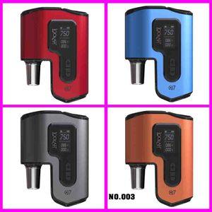vaporizzatore enail Kit penna cera lookah Q7 per tamponare gli impianti con quarzo Piatto Preriscaldare Camera 100% autentico trasporto di cc libera