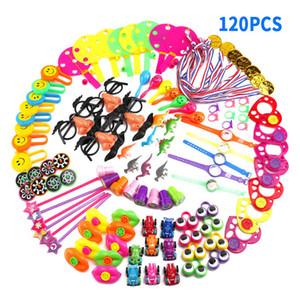 Presente assorted brinquedos brindes crianças 120 pcs goodie bags carnaval prêmios festivos fontes do partido pinata enchimentos