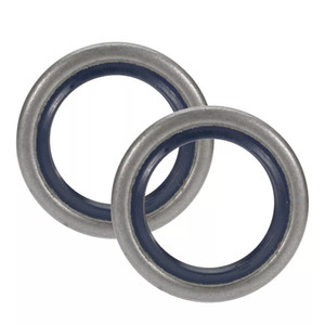 Metal Chain Saw Gasket Set With Oil Seals For Husqvarna 362 365 371 372