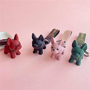 New Fashion Dog Keychains Stylish High Quality Keychains Lovely Animals Handbag Pendants Cars Decoration Birthday Gifts Accessories New