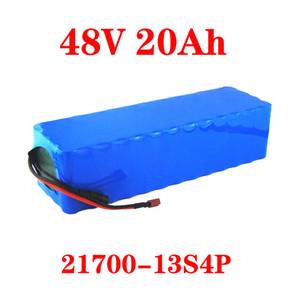 48V 15AH 20AH 30AH 21700 13S3P alta potencia de 1800 W de bicicleta eléctrica de la batería E-bici de la batería 48V15ah pila de litio con BMS 50A