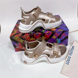 goodL1 women sandals real leather studs flat heels sandal 35-40 slipper slide sandals unisex outdoor beach flip flops