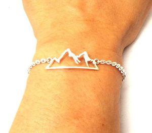 10pcs Wasatch Mountain Range Motivational Alpine Dream Choker bracelet Camping Gift Campers Mountain Biking Rock Mountain Bracelet jewelry