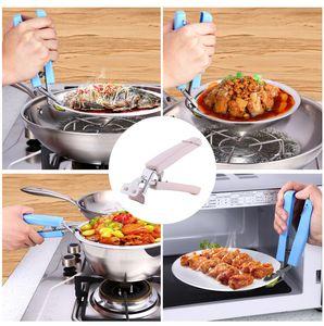 Лоток из нержавеющей стали клип многофункциональный чаша клип творческие кухонные инструменты пластиковые противоскользящие клип Кухонные аксессуары XD23310