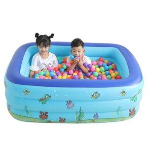 Été piscine gonflable Grande piscine gonflable Centre Lounge Family Fun Fun Jeu d'eau Jouet 529