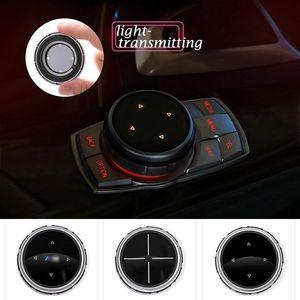 Pulsanti BMW iDrive Car Multimedia copertura M Emblem Adesivi per BMW E46 E39 E60 E90 E36 F30 F10 X5 E35 E34 E30 F20 E92 E60 M5