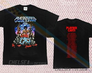 New Limited Playboi Carti Merch Tour Hip Hop Rare T-Shirt All Size Dk1