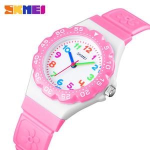SKMEI New Kids Montres Sports de plein air Wristwtatch Garçons Filles PU imperméable Quartz Bracelet Enfants Montres 1483 reloj