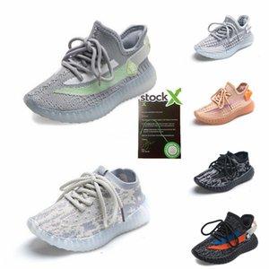 2020 Nueva Fashiony3 Zapatos Casual Botas Kanye West Y-3 Rojo Blanco Negro de alta Top zapatillas de deporte de los niños impermeable de cuero genuino # 739