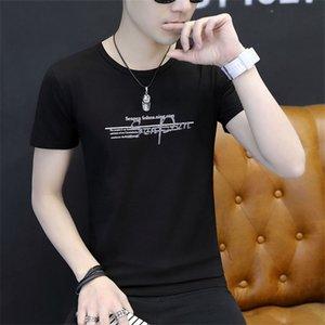 Mulher da juventude Belbello Verão Camisas personalizadas Menswear manga curta T-shirt tamanho grande gola redonda algodão puro