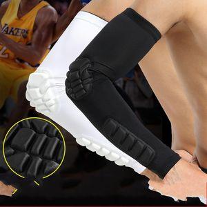 Безопасность Arm Pad Спортивные Манжеты Баскетбольные Рукава Локоть Защитное Снаряжение Велоспорт Туризм Дышащий Удлинить Anti Wear 15xkf1