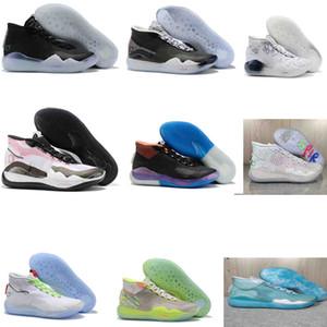 Mens Trainers Nuovo KD 11 EP originali scarpe di schiuma rosa Paranoid Oreo ICE pallacanestro originale Kevin Durant XI KD11 Sneakers dimensioni 7-12