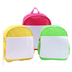 sublimation vierge enfants enfants cartable maternelle livre sac transfert à chaud impression vierge bricolage consommables